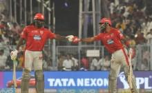 Chris Gayle and KL Rahul