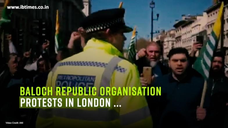 Baloch Republic Organisation protests in London