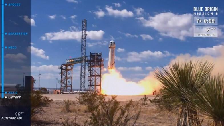 Jeff Bezos Blue Origin: Successful New Shepard Test Flight Brings Amazon Boss Closer to Space Tourism