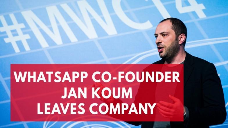 WhatsApp Billionaire Jan Koum Leaves Company To Work On Cars And Play Frisbee