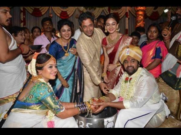 Meghana Raj Chiranjeevi Sarja Wedding Video Who All Attended The Couple S Marriage Photos Ibtimes India