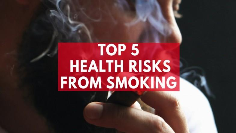 Top 5 Health Risks From Smoking