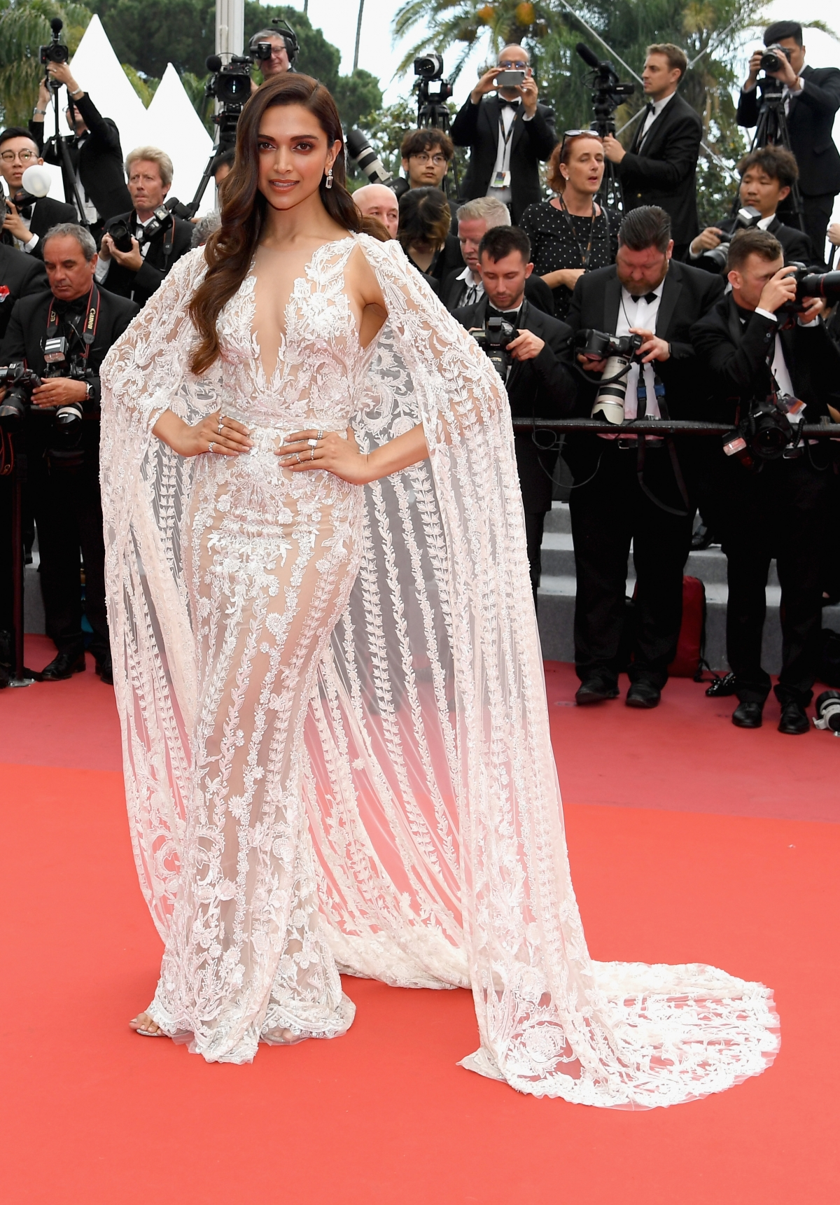 kangana, deepika, huma : bollywood divas slay the cannes red carpet