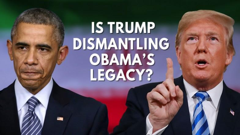 Is Trump Destroying Obamas Foreign Policy Legacy?