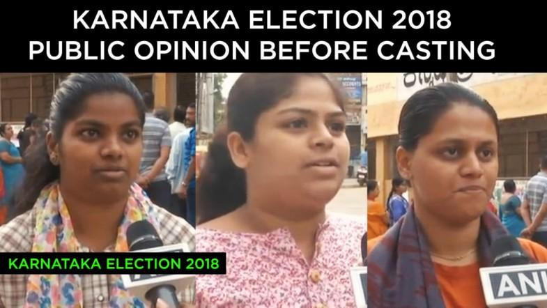 Karnataka Election Public Opinion