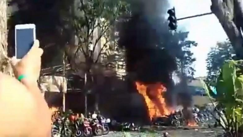 At Least Nine Dead In Suspected Islamic State-Inspired Church Bomb Attack In Indonesia