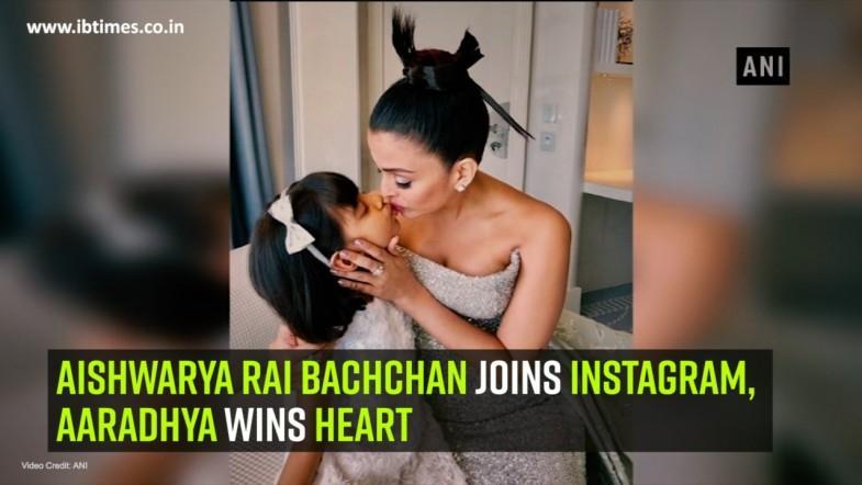 Aishwarya Rai Bachchan joins Instagram, Aaradhya wins heart