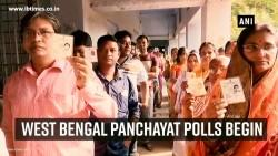 West Bengal panchayat polls begin