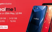 Oppo, Realme 1, Amazon, India, price