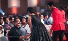 Kamal Haasan, Priya Prakash Varrier, Roshan and Mammootty