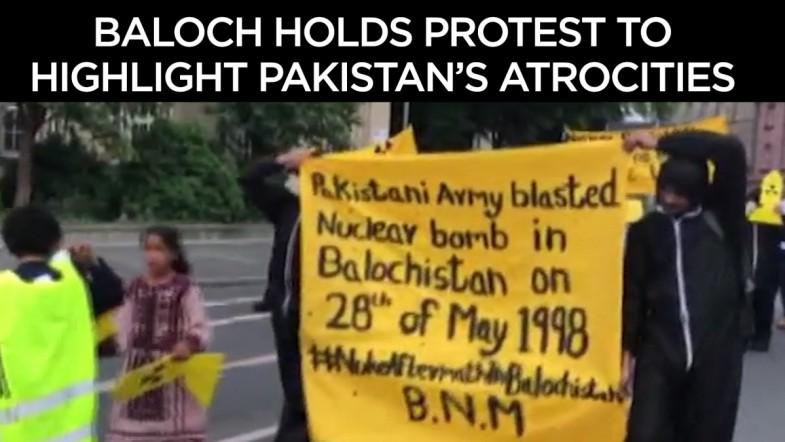 Balochs hold protest to highlight Pakistan's atrocities