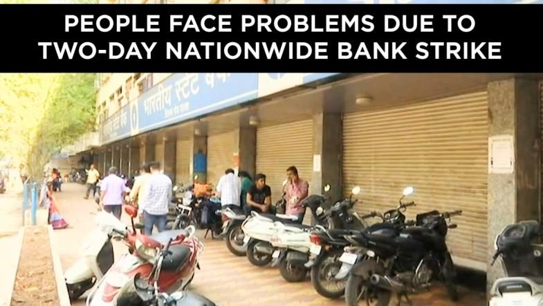 People face problems due to nationwide bank strike