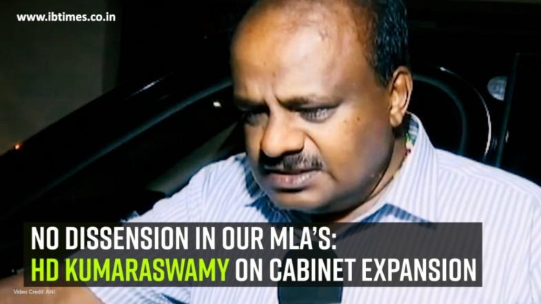No dissension in our MLA's: HD Kumaraswamy on Cabinet expansion