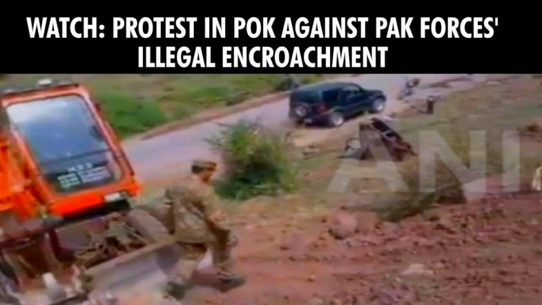 Exclusive: Pak forces doing illegal encroachment in PoK