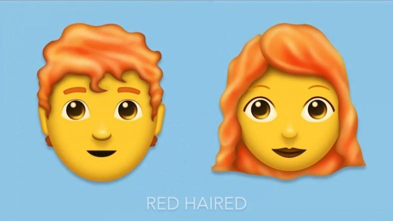 Ginger Hair Finally Included In Emoji Update