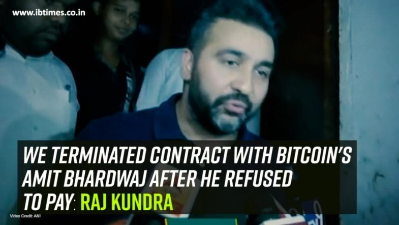 We terminated contract with Bitcoins Amit Bhardwaj after he refused to pay: Raj Kundra