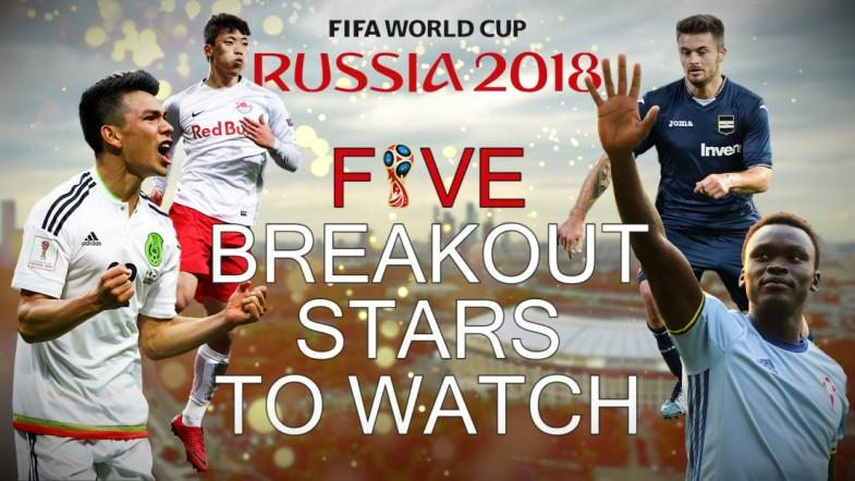 World Cup 2018: Five Breakout Stars To Watch