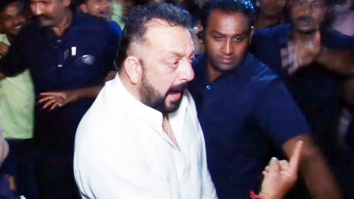A drunk Sanjay Dutt pushed his sister Namrata so hard that ...