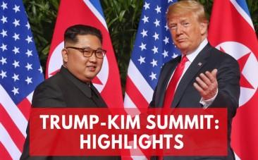 Trump-Kim Summit: Key Moments From Their Historic Meeting In Singapore