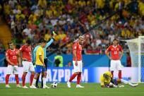 Valon Behrami Switzerland Coutinho Neymar Brazil