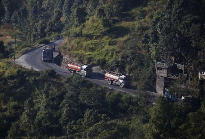 China Nepal border