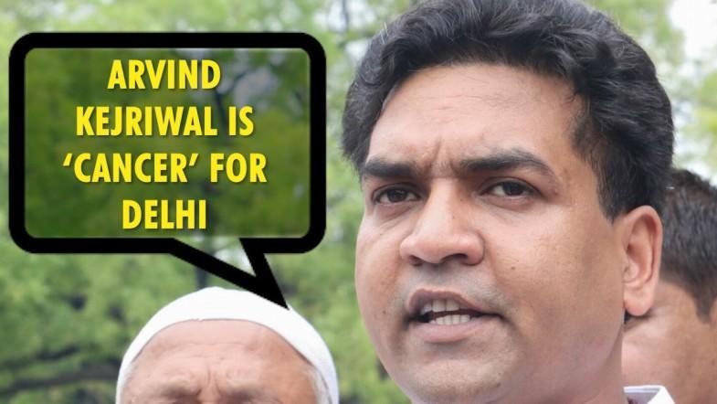 CM Arvind Kejriwal is 'cancer' for Delhi: Kapil Mishra