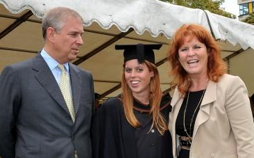 Prince Andrew, Princess Beatrice and Sarah Ferguson