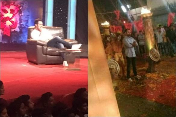 Jr NTR Dhee 10 grand finale photos and video
