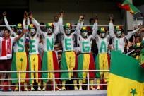 Senegal fans at Fifa World Cup