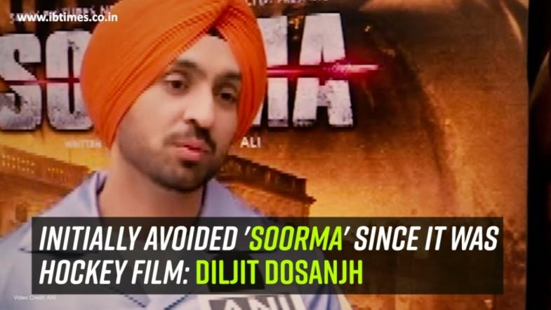 Initially avoided Soorma since it was hockey film: Diljit Dosanjh