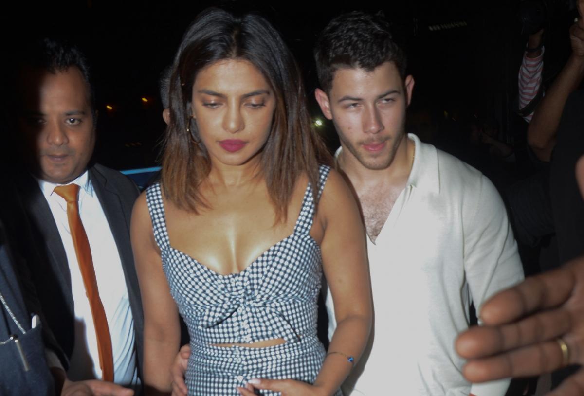 Priyanka Chopra And Nick Jonas Roka Ceremony Begins Desi -7006