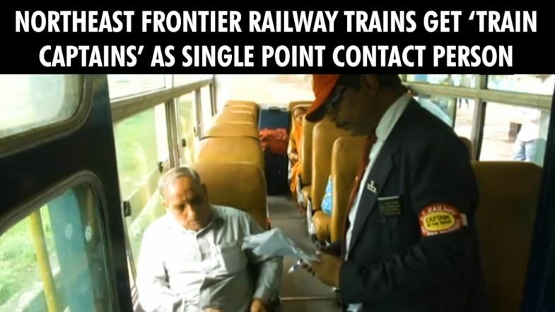 Train Captains as single point contact person in Indian Railways