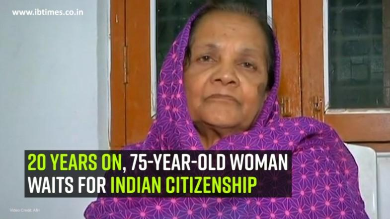 20 years on, 75-year-old woman waits for Indian citizenship