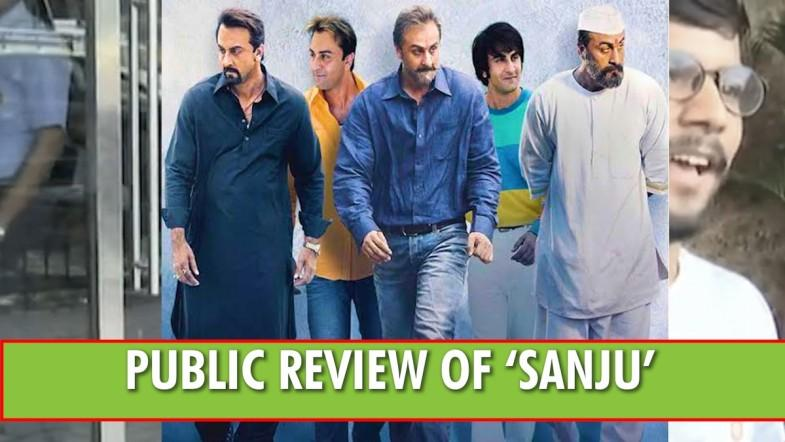 Public Review of 'Sanju': Ranbir's acting, Hirani's direction get applauds