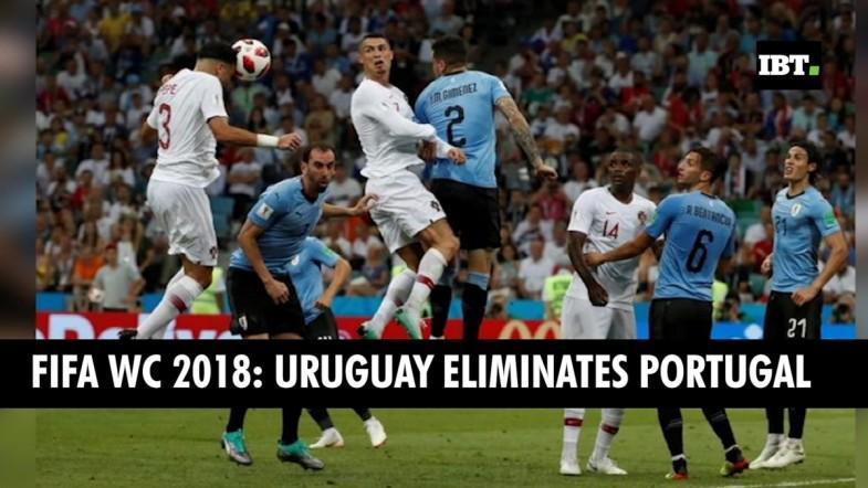 FIFA WC 2018: Uruguay eliminates Portugal