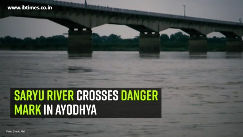 Saryu River crosses danger mark in Ayodhya