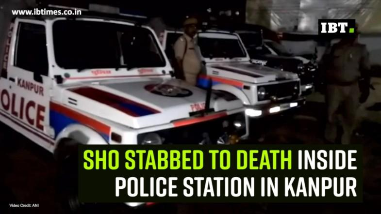 SHO stabbed to death inside police station in Kanpur