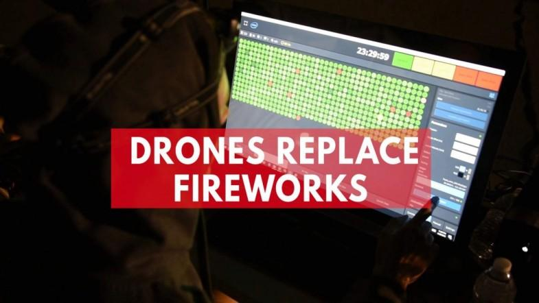 Travis Air Force Base Replaces Independence Day Fireworks with Intel Drone Light Show