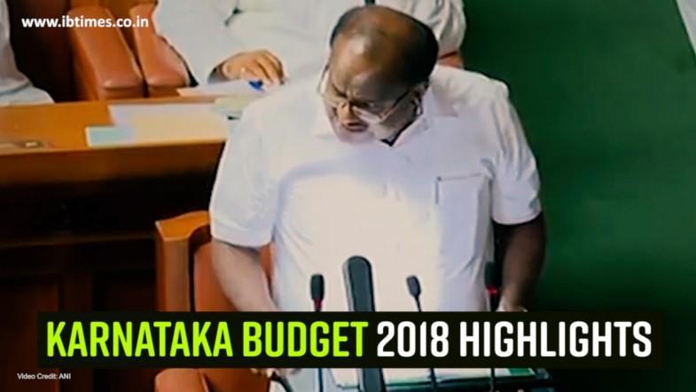 Karnataka Budget 2018 highlights
