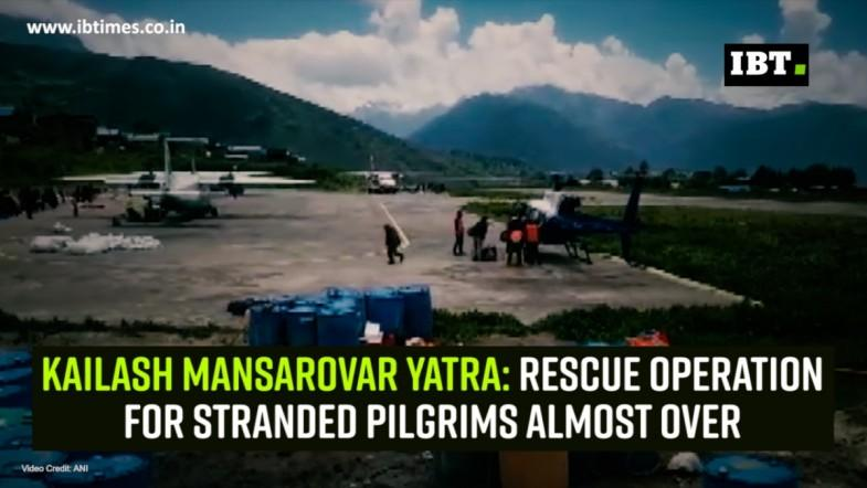Kailash Mansarovar Yatra: Rescue operation for stranded pilgrims almost over