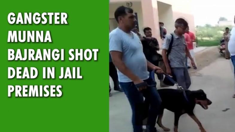 Gangster Munna Bajrangi shot dead in jail premises