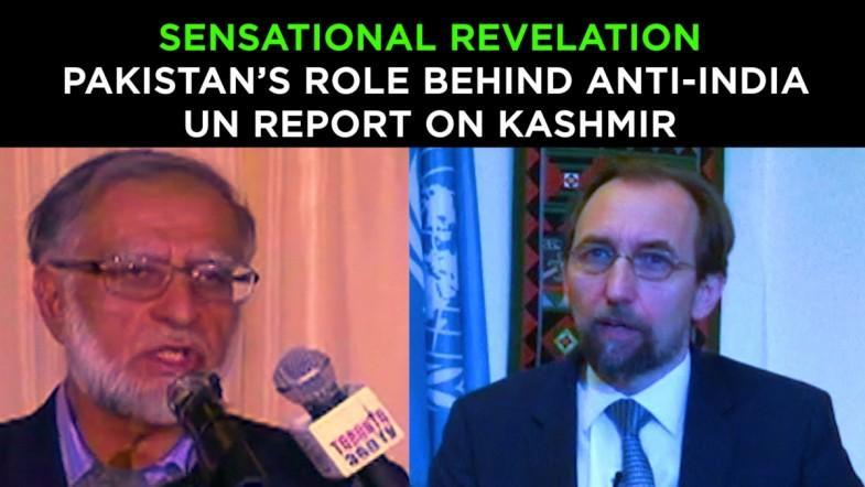 Pakistans role behind anti-India UN Report on Kashmir