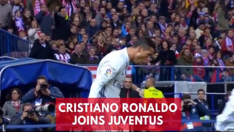 Cristiano Ronaldo Joins Juventus