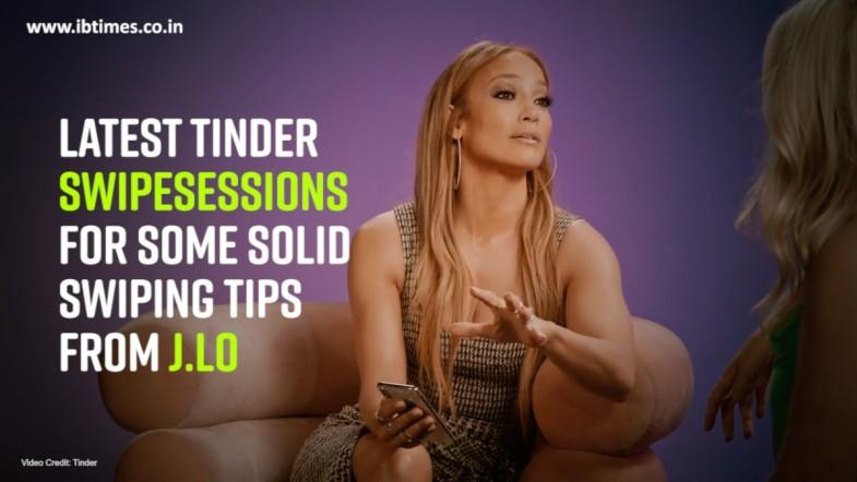 J.Lo Tinder Takeover  Swipe Sessions  Tinder