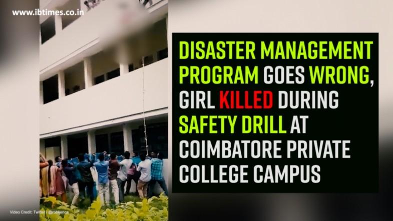 Innocent girl succumbed during national disaster management program