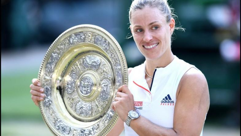 Angelique Kerber Beats Serena Williams To Become Wimbledon Champion