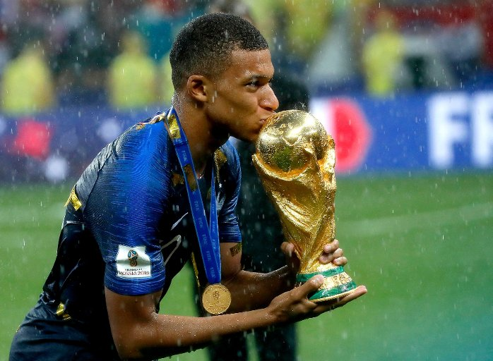 Image result for kylian mbappe win world cup