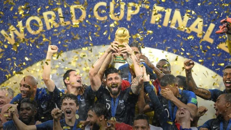 France Crowned Soccer World Cup Winners