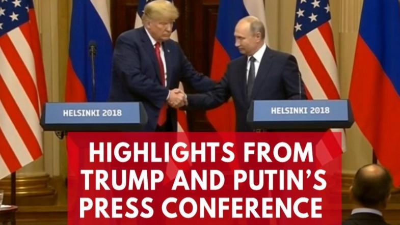 Highlights From Donald Trump And Vladimir Putins Press Conference In Helsinki