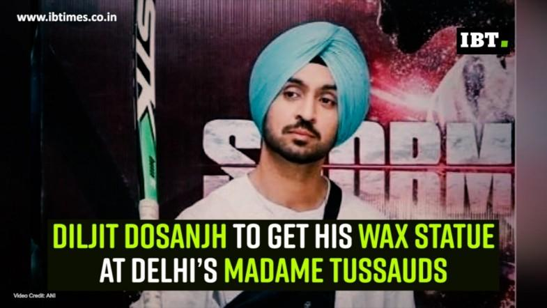 Diljit Dosanjh to get his wax statue at Delhi's Madame Tussauds